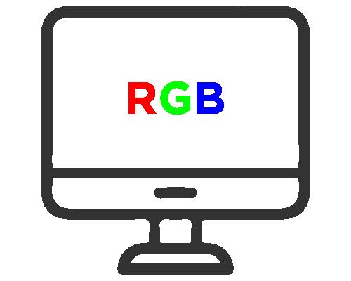 RGB on screen