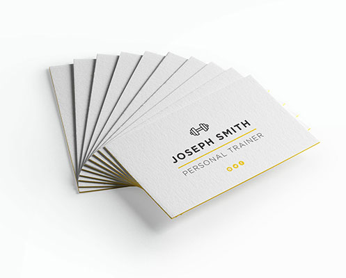 Luxury 750gsm business cards