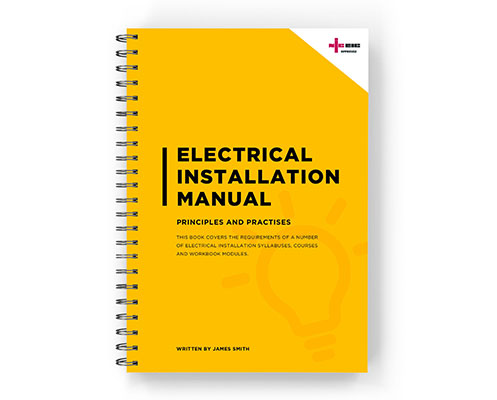Wiro-bound electrical manual