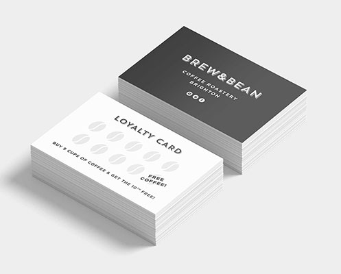 Loyalty stamp card